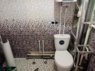 Замена водопроводных труб и монтаж водонагревателя