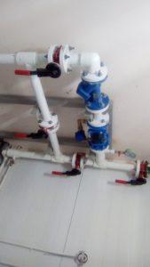 Смонтрированный водомерный узел нашей компании. https://водопроводчик24.рф