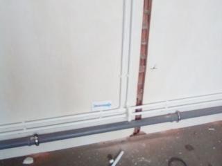 Подъем труб на потолок. https://водопроводчик24.рф