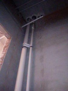 Монтаж стояков на 3 этаже. https://водопроводчик24.рф
