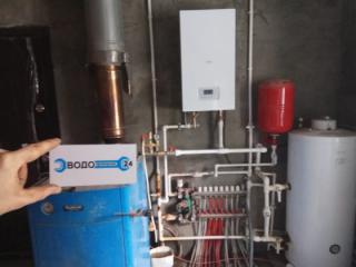 Монтаж системы отопления частного дома 250кв/м в пос. Косулино